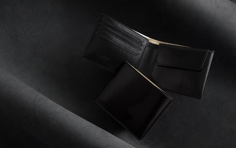 二つ折り財布(小銭入れ付)「KAWAORIGAMII」