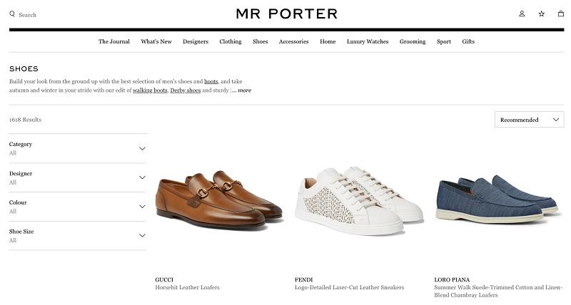 MR PORTER購入1