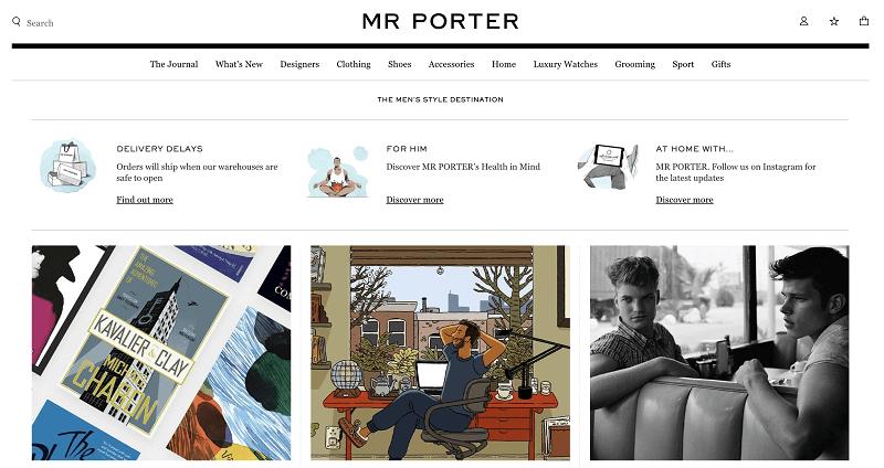 MR PORTERtop
